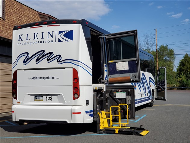 ADA Accessible Motorcoaches