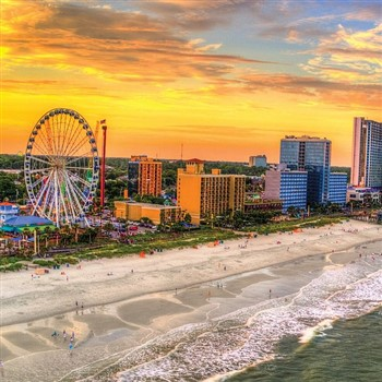 Sunsets, Sand and Sunshine...just a few reasons to visit Myrtle Beach!