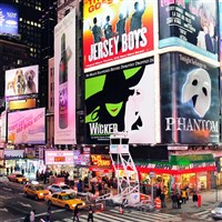 New York City - Freetime with Broadway Option